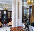 Living room of the Margherita Suite of the  Baglioni Hotel Regina in Rome