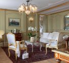 Living room of the San Giorgio Terrace Suite of Baglioni Hotel Luna in Venice