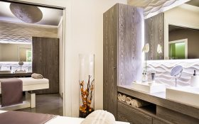 The Spiga 8 Spa at the Baglioni Hotel Carlton in Milan