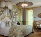 Master Bedroom of the San Giorgio Terrace Suite of Baglioni Hotel Luna in Venice