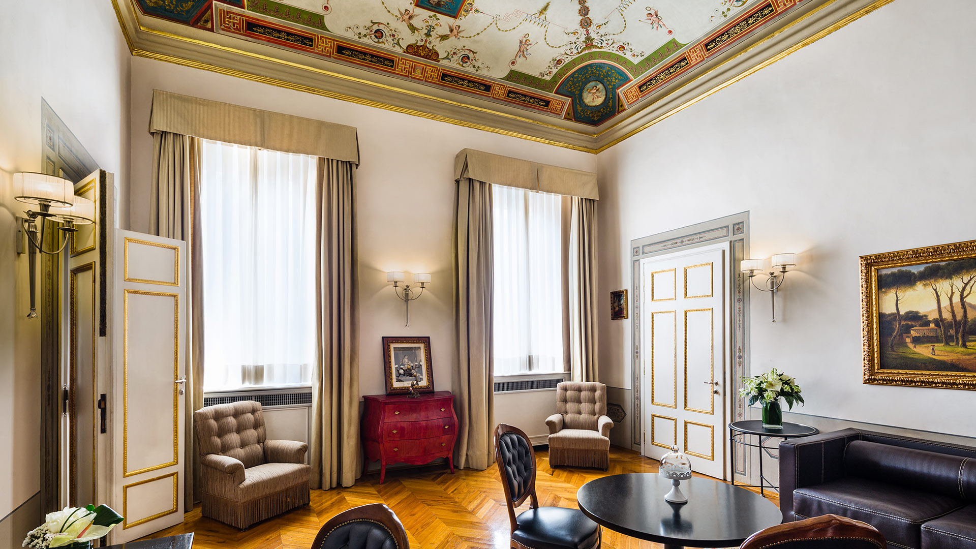 Living room Suite De Pepi Relais Santa Croce Firenze