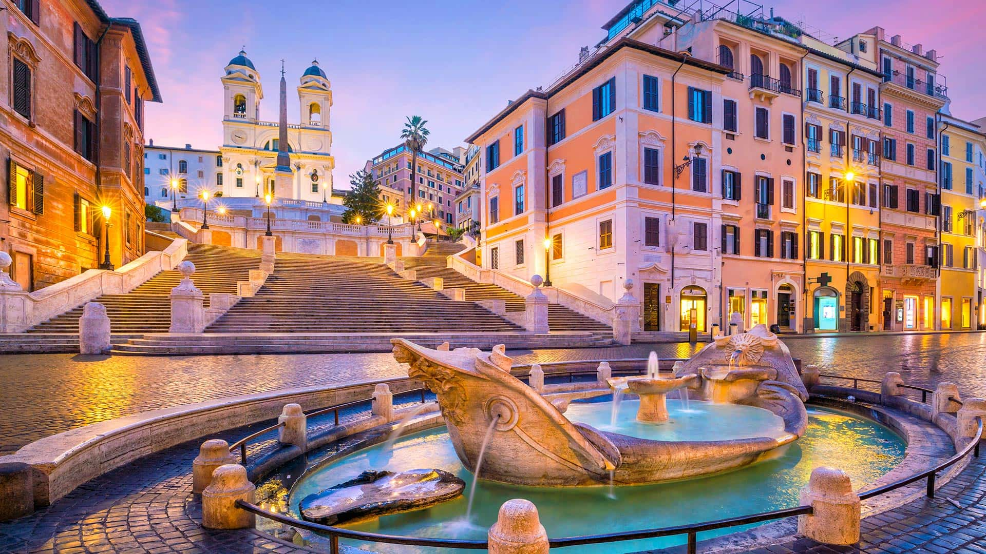 Rome the Spanish steps