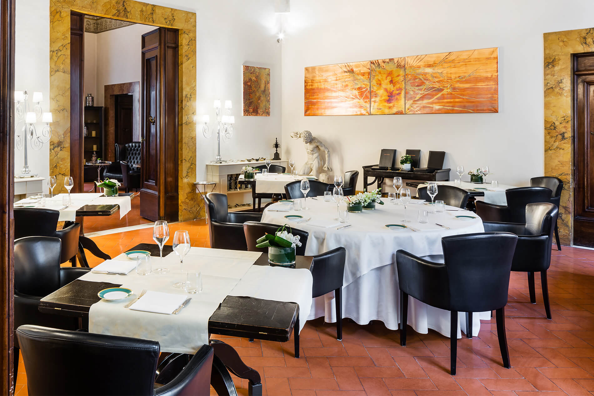 Guelfi and Ghibellini restaurant in Florence