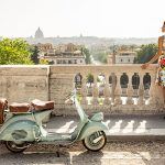 Roman Holiday tour on a Vespa
