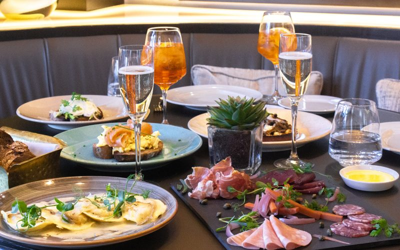 Brunch at the Brunello Restaurant in London
